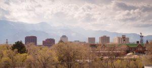 Colorado Springs divorce attorney  and Colorado Springs family law attorney fotolia 82354232 300x135 - Colorado Springs Downtown City Skyline Dramatic Clouds Storm