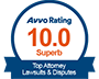 Colorado Spring Divorce and Family Law Attorney – AVVO Badge