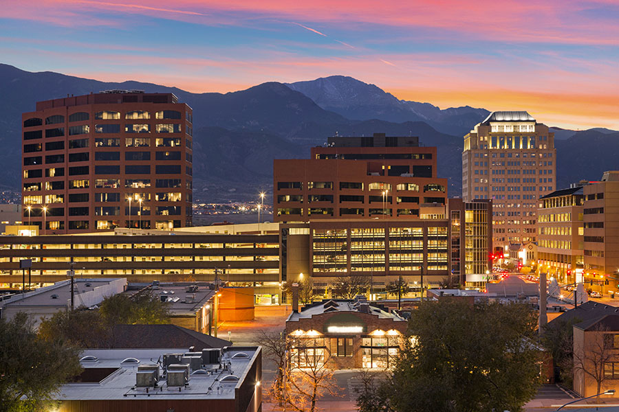 colorado springs skyline - Home